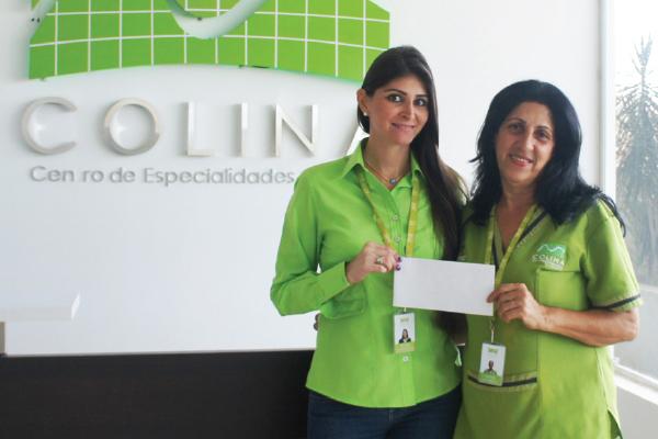 RS_Donacion de costo total de examenes a empleada de clinicas colina